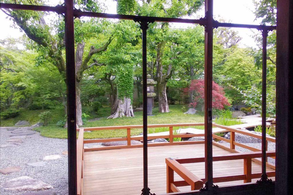 西尾八ッ橋の里の庭