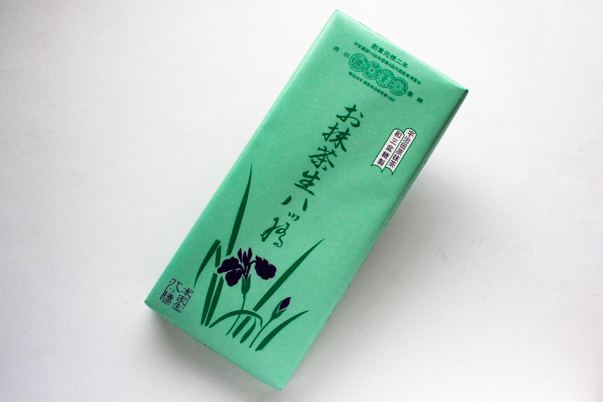 本家八ッ橋「お抹茶生八ッ橋」は宇治田原の抹茶を使ったぜいたくな味わい
