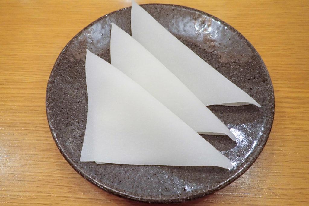 西尾為忠商店「生八ッ橋」の中身