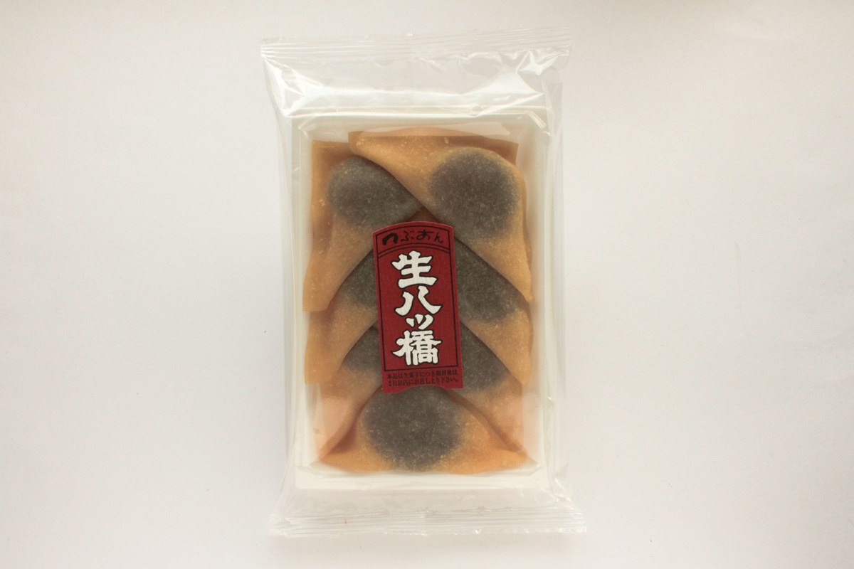 優雅な生八ツ橋「小町花伝(ニッキ)」は爽やかな香りが食欲をそそる