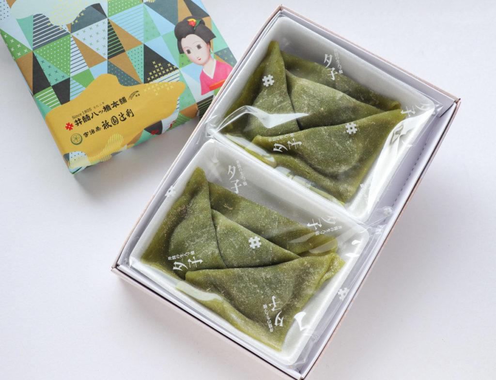 夕子(京都祇園抹茶チョコレート)の開封写真