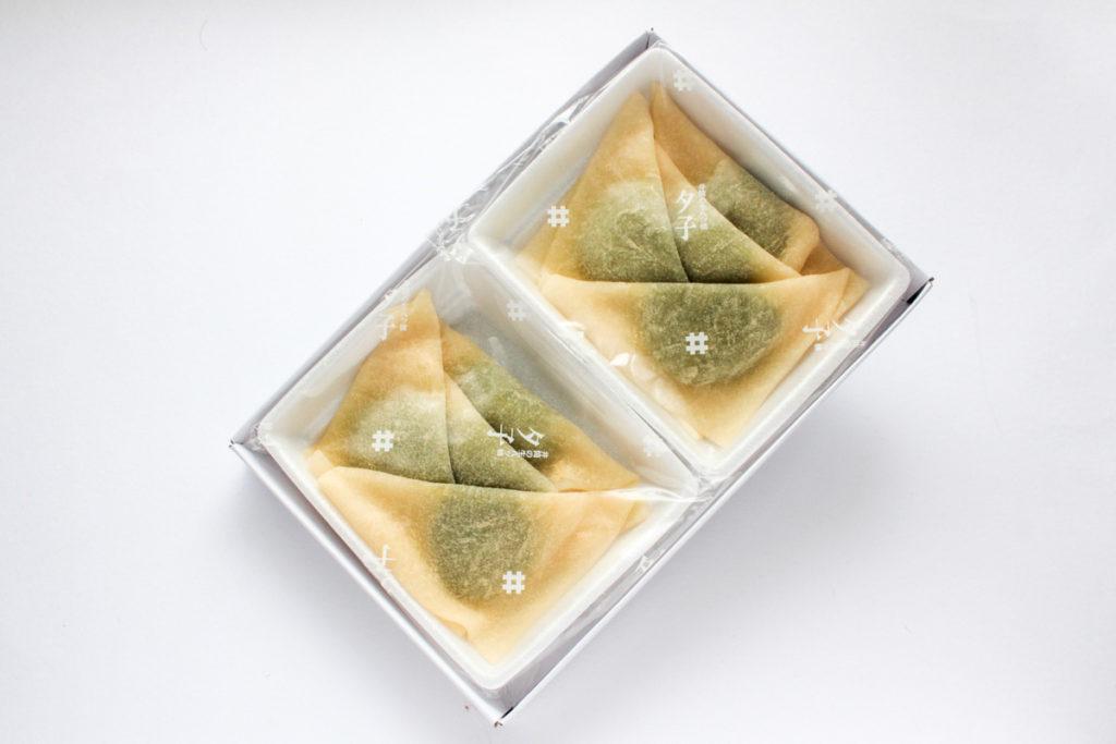 夕子(抹茶チョコレート)の開封写真