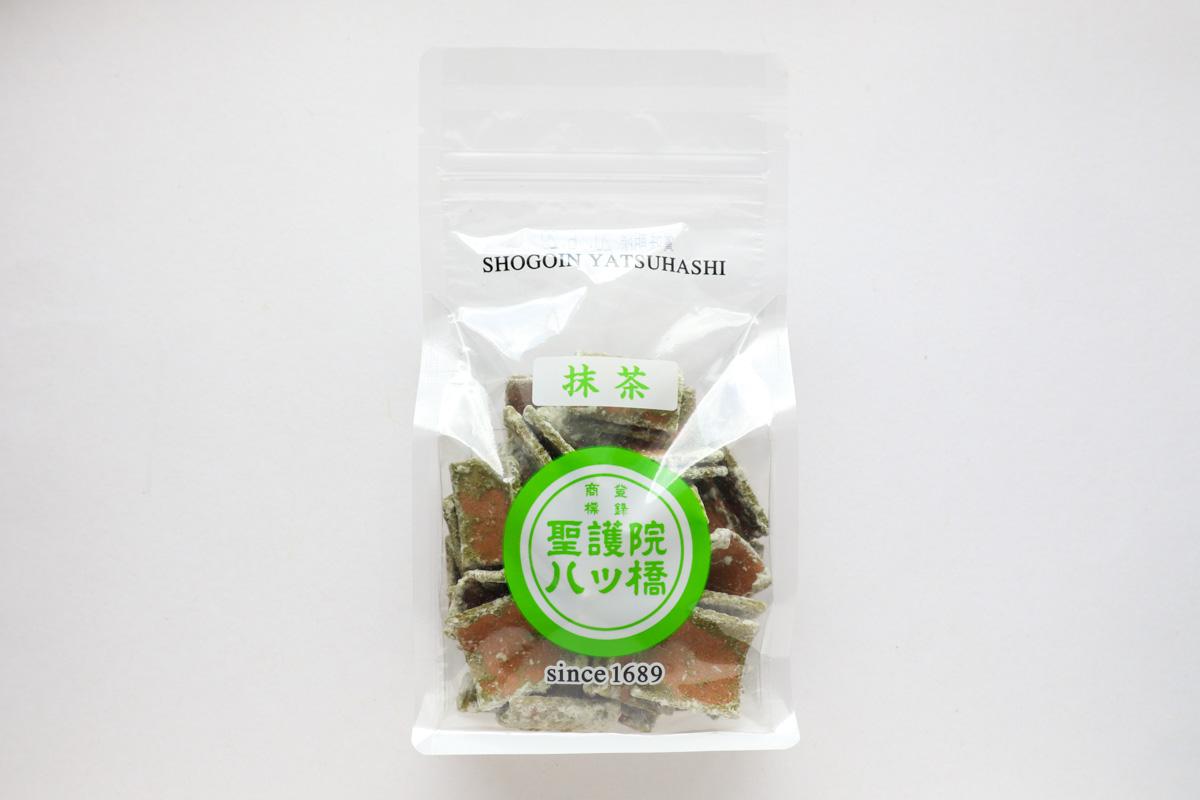 「聖護院八ッ橋(抹茶)」は甘さと苦みが同時に味わえるおいしい八ッ橋