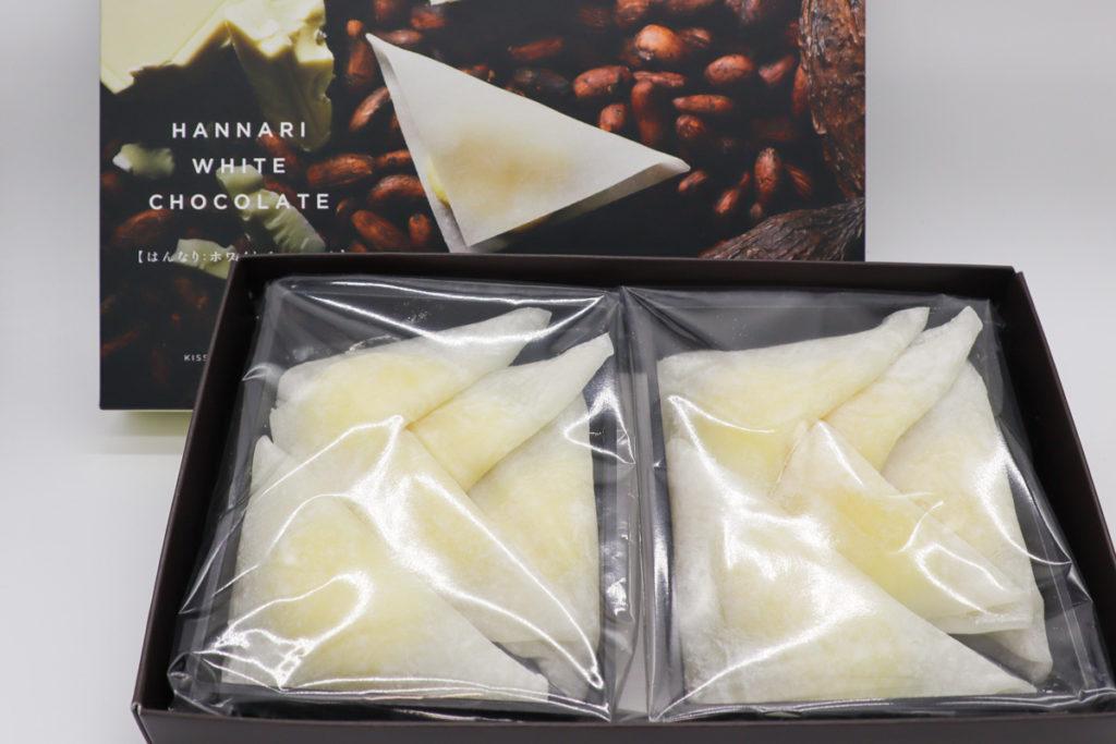 HANNARI(生チョコレート)の開封写真