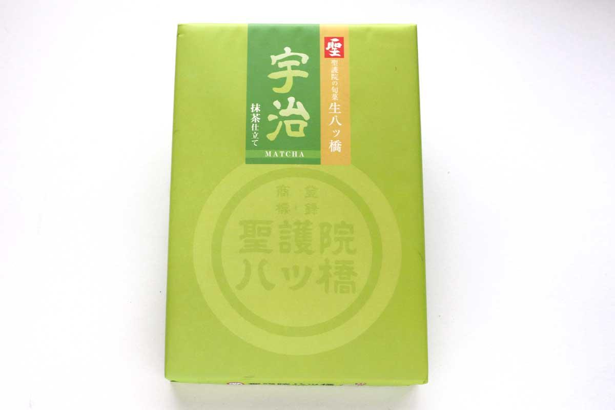 聖「宇治」は皮とあんに抹茶を使った抹茶好きにはぴったりの生八ツ橋