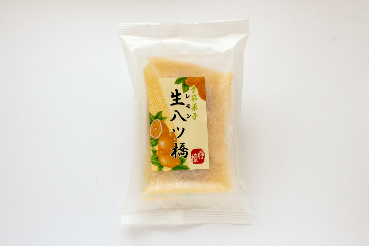 【宇治彩菜】生八ツ橋(レモン) はとても控えめな生八ッ橋
