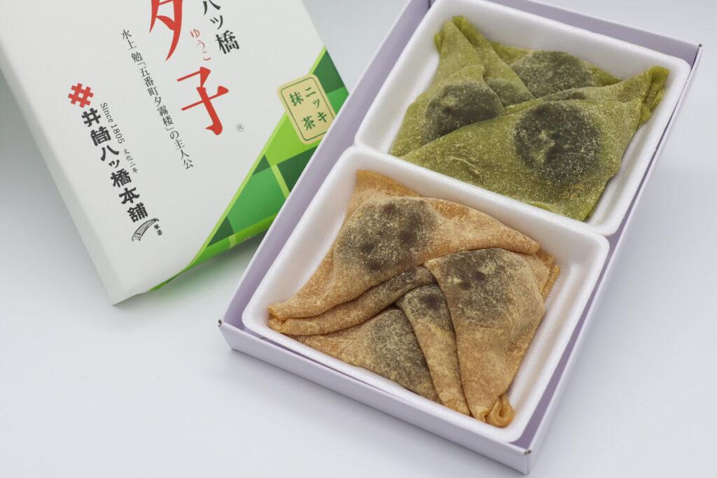 夕子(ニッキ・抹茶)開封写真